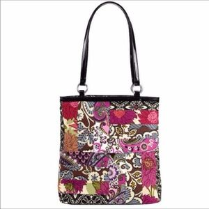 Vera Bradley patchwork medley limited edition tote